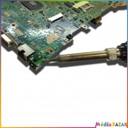 Réparation connecteur charge alimentation jack carte mère PC portable Netbook tablette toutes marques