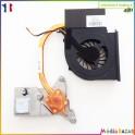 Ventilateur ventirade 534675-001 NFB75B05H FRI0P645T113653A Compaq Presario CQ71