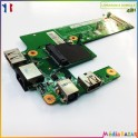 Carte USB ethernet  jack DG15 IO BOARD 48.4HH02.011 Dell Inspiron 15R N5010