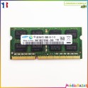 Barrette mémoire sodimm 4GB  DDR3 2Rx8 PC3-10600S Samsung
