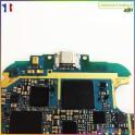 Réparation connecteur charge alimentation jack carte Samsung Galaxy S3 I9300