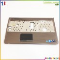 Plasturgie palmrest + touchpad + nappe 0X01GP 60.4HH04.013 Dell Inspiron N5010