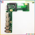 Port USB + audio + HDMI 60-NZII01000-B01 K52JR-IO-BOARD Asus X52D