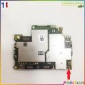 Réparation soudure connecteur antenne réseau Sony Xperia XA