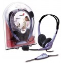 Casque + micro HS-04S anti-bruit ajustable volume ajustable