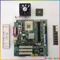 Carte mère MS-6786 + Processeur AMD Sempron 2600 + Barette mémoire 256 mo occasion fonctionnelle