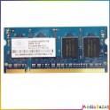 Barette mémoire 256MB DDR2 1RX16 PC2-4200S-444-10 Nanya