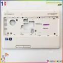 Plasturgie palmrest + touchpad + nappe AP0H0000330 Toshiba Satellite C660