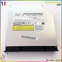 Graveur DVD EBTJR-A UJ240 Toshiba Qosmio X500