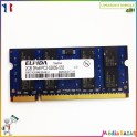 Barette mémoire 2GB (2048MB)  DDR2 2RX8 PC2-5300S-555 Elpida