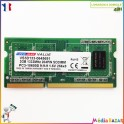 Barrette mémoire sodimm 2GB DDR3 1333 PC3-10600S Dane-Elec