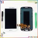 Ecran complet vitre tactile et LCD monté pour Samsung Galaxy S3 SIII I9300 + outils offert
