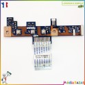 Power bouton on/off KAWG0 LS-4851P + nappe NBX0000E600 Emachines E525