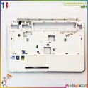 Plasturgie palmrest + touchpad + nappe WIS604GH030010 Packard Bell EasyNote TJ66 MS2273