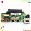 Port USB + audio + ethernet + port sata Asus Eee PC 1008P
