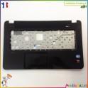 Plasturgie palmrest + touchpad + nappe 36R68TATP00 HP Pavilion 17-e026sf
