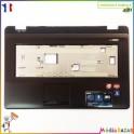 Plasturgie palmrest + touchpad + nappe 13GNZW1AP030 Asus X72D