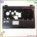 Plasturgie palmrest + touchpad + nappe V000140980 B0247209S1009304B Toshiba Satellite L350