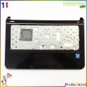Plasturgie palmrest + touchpad + nappe EAU33003010-2  HP Pavilion 14-c001sf