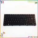 Clavier AZERTY français AEZQ1F00010 9Z.N1P82.Q0F Acer Aspire 4820T