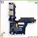 Port USB + SATA + wifi + lecteur de carte LS-5143P Packard Bell KAV60