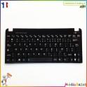 Clavier AZERTY français 13GOA3D2AP040 MP-10B66F0-528 Asus Eee PC 1015BX