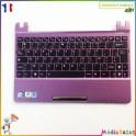 Plasturgie palmrest + touchpad + clavier 13GOA3P9P060 Asus Eee PC X101CH hors service
