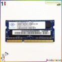 Barrette mémoire sodimm 4GB  DDR3 2Rx8 PC3-10600S Nanya