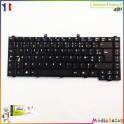 Clavier AZERTY français PK1306B02G0 MP-04656F0-6984 Emachines E620