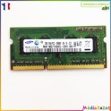 Barrette mémoire sodimm 2GB  DDR3 1RX8 PC3-10600S Samsung