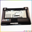Plasturgie palmrest + touchpad + nappe AP05S000800 Toshiba Satellite A350