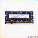 Barrette mémoire sodimm 2GB  (2048 MB) DDR2 2Rx8 PC2-6400S-666-12 Hynix