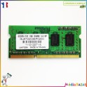 Barrette mémoire sodimm 1GB  DDR3-1333 128MX8