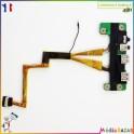 Carte connecteur USB + nappe 32TZ1UB0000 DA0TZ1AB8D0 Toshiba Qosmio X500