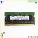 Barette mémoire 1GB (1024MB)  DDR2 2RX16 PC2-6400S-666-12 SAMSUNG