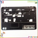 Plasturgie palmrest + touchpad + nappe AP06R000500 Emachines E525