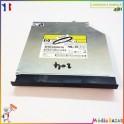 Graveur DVD AD-7711H-H1 646126-001 Compaq Presario CQ57
