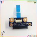Connecteur lecteur optique + nappe BA92-05997A Samsung RV510