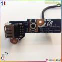 Module bouton Power on/off + USB + nappe BA92-05996A Samsung RV510